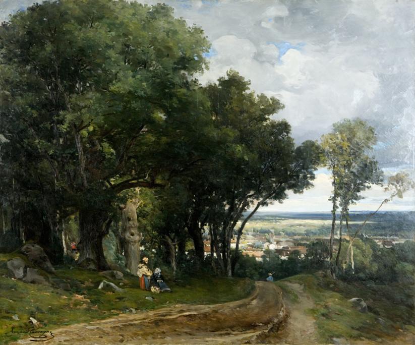 Armand Cassagne  inv 444 - Mont Pierreux  - restauré