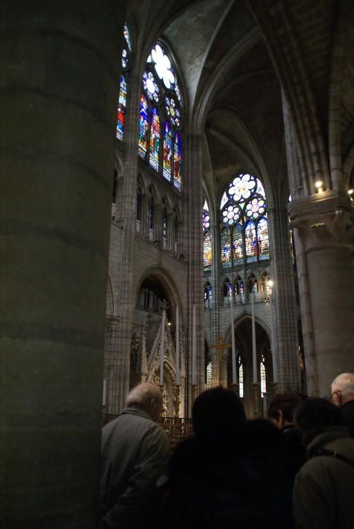 Le transept sud vu du choeur