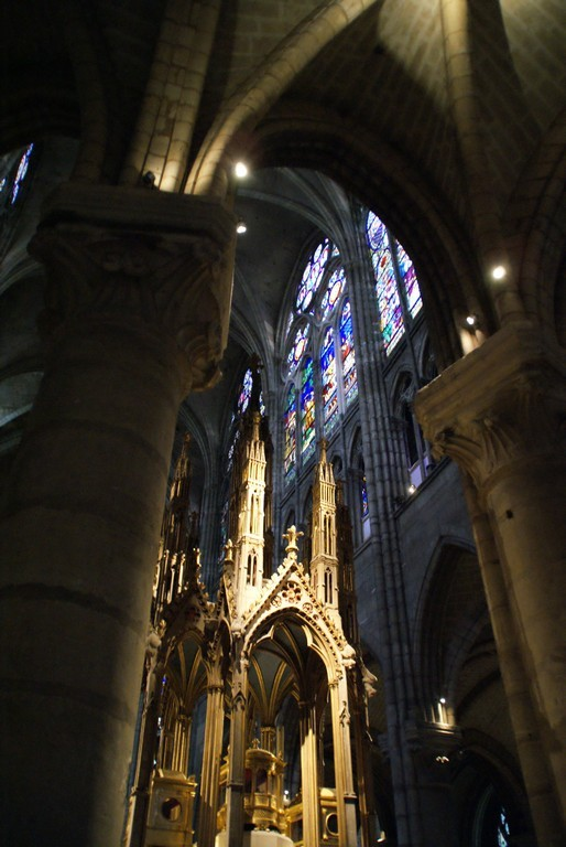 Le transept nord vu du choeur