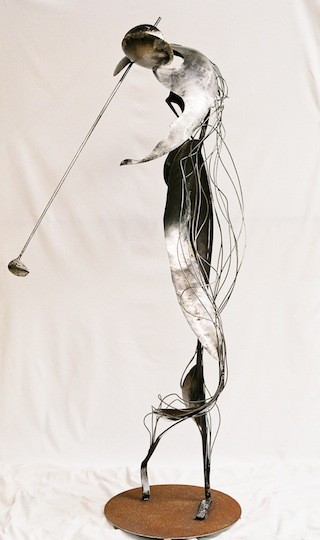 Le swing   La beauté de l'inutil.    180X100X40        2010