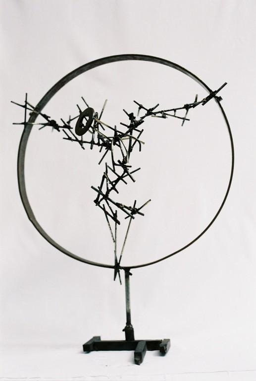 Crucifixion d'un archange              60x50x20            2006