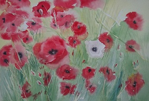 Coquelicots n° 2 26x35 * (2018)