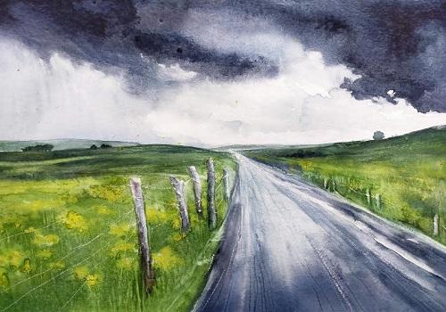 Route sous la pluie (2020)*