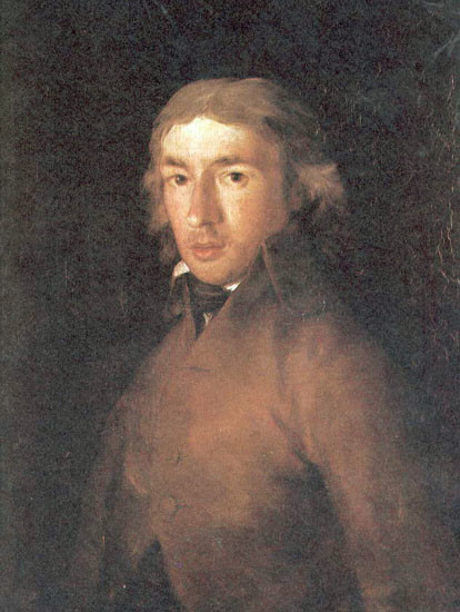 Leandro Fernández de Moratín (1760-1828) pintado por Francisco de Goya.
