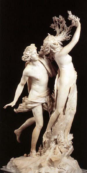 Apolo y Dafne.  Gian Lorenzo Bernini (1598-1690)
