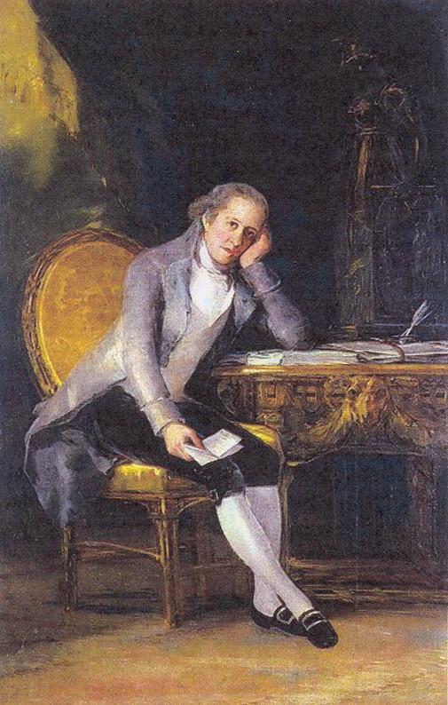 Jovellanos. Retrato de Goya (1798)