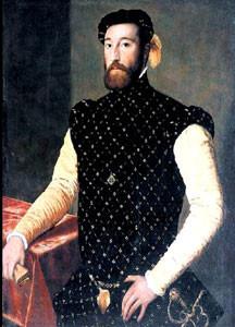 Posible retrato de Garcilaso de la Vega, de autor desconocido (Galería de pintura de Kassel)