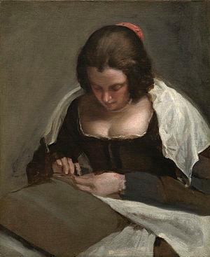 La costurera. Diego Velázquez