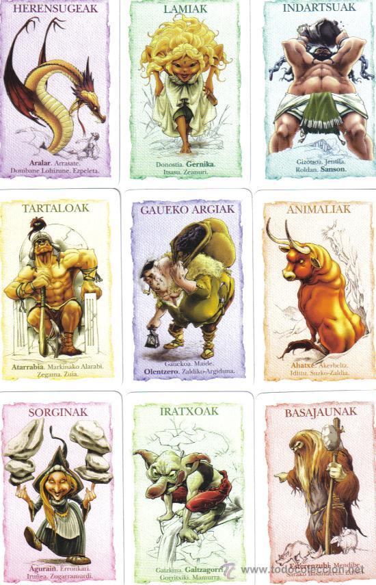 Personajes mitológicos vascos