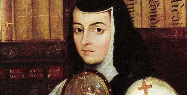 Retrato de Sor Juana Inés de la Cruz, Miguel Cabrera, ca. 1750.