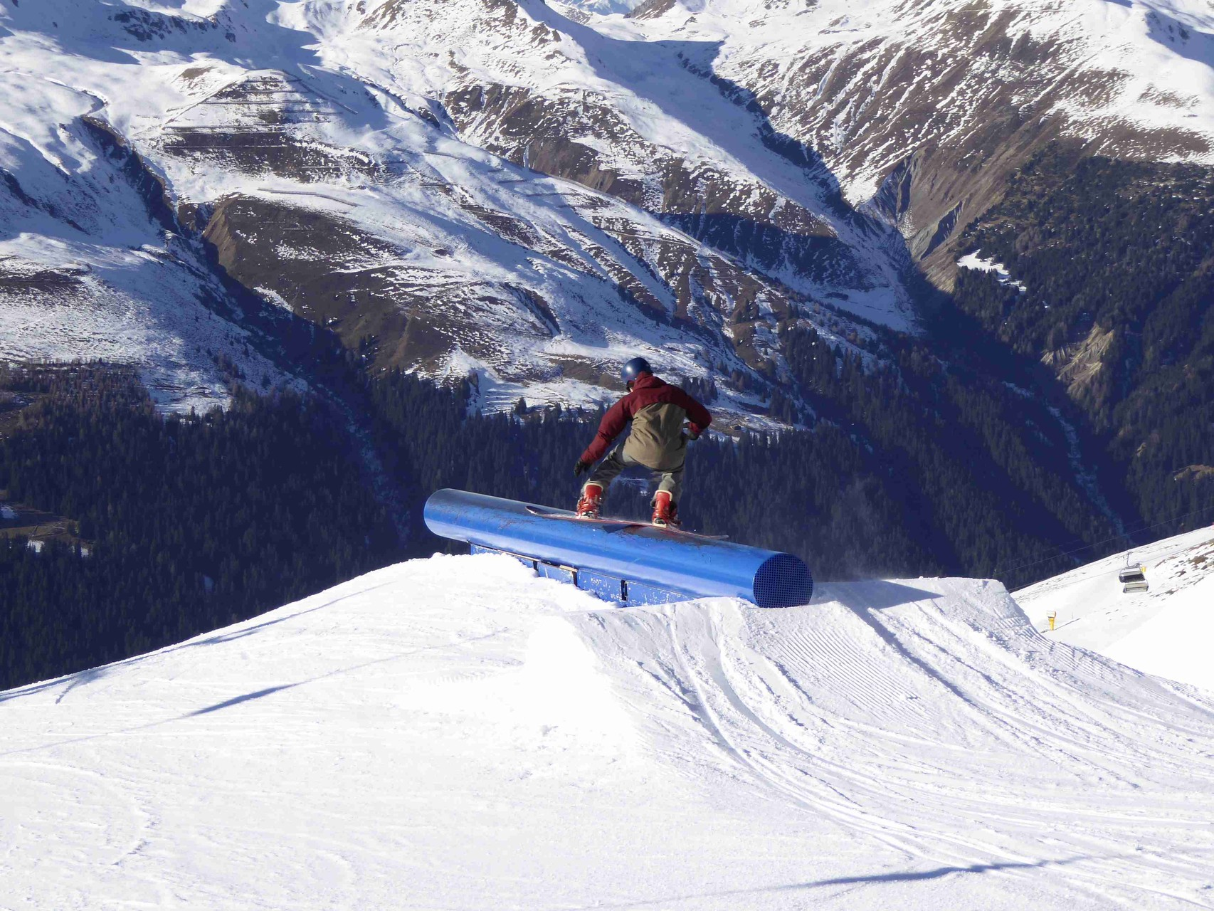 Davos Jakobshorn, Snowpark Jatz, 23.12.2015
