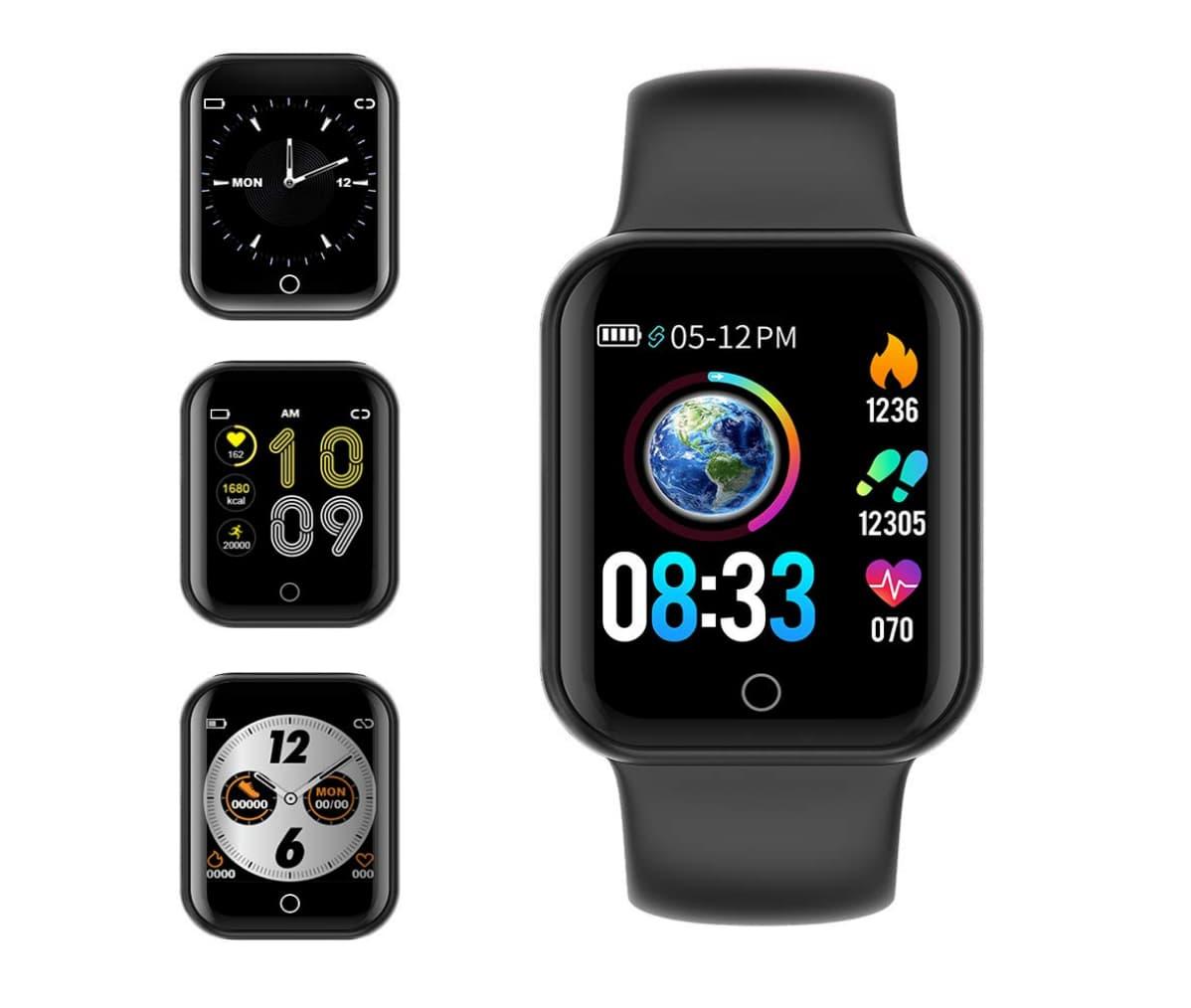 Kungix-Smartwatch mit Blutdruckmessung* (ca. 50 Euro). Foto: Amazon.de