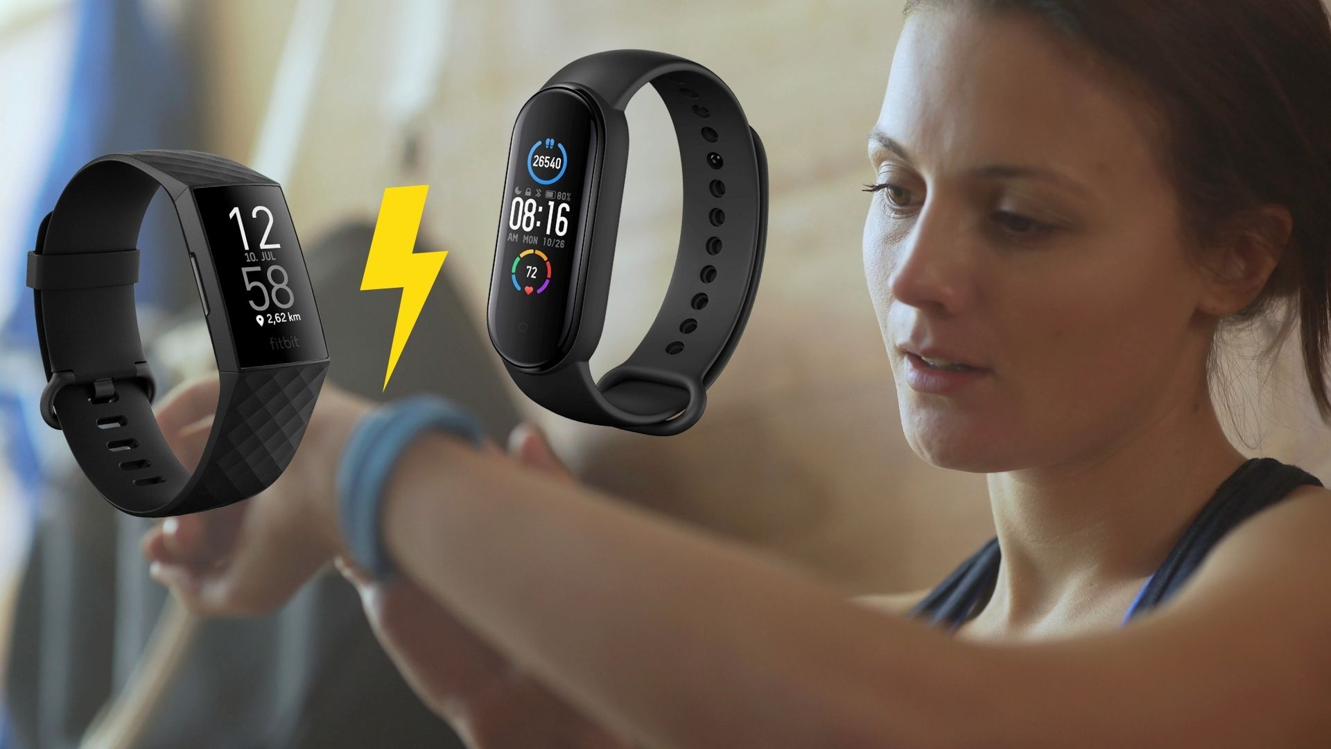 Fitbit Charge 4 vs. Mi Band 5: Welcher Fitness-Tracker ist besser?