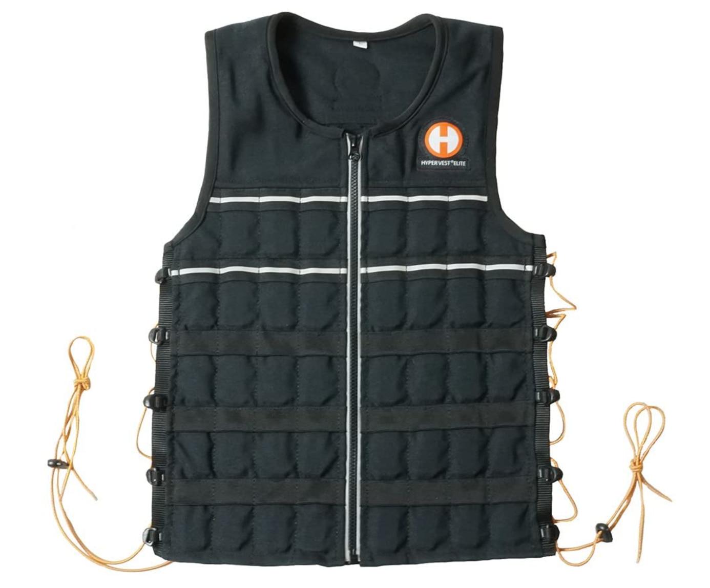 Ein absolutes Profi-Modell ist diese Hyper Vest für 240 Euro, die besonders eng am Körper anliegt. Foto: Amazon