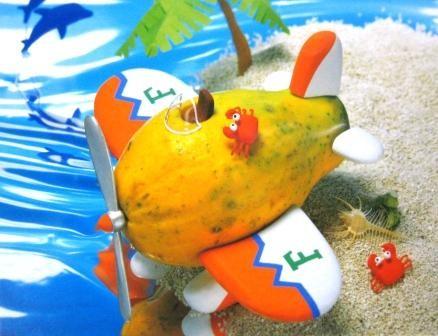 ファンケル・情報誌表紙(果物とのコラボ)+カレンダー