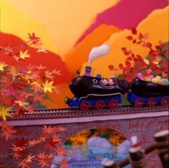 秋の野菜(ナス)を使い季節を表現