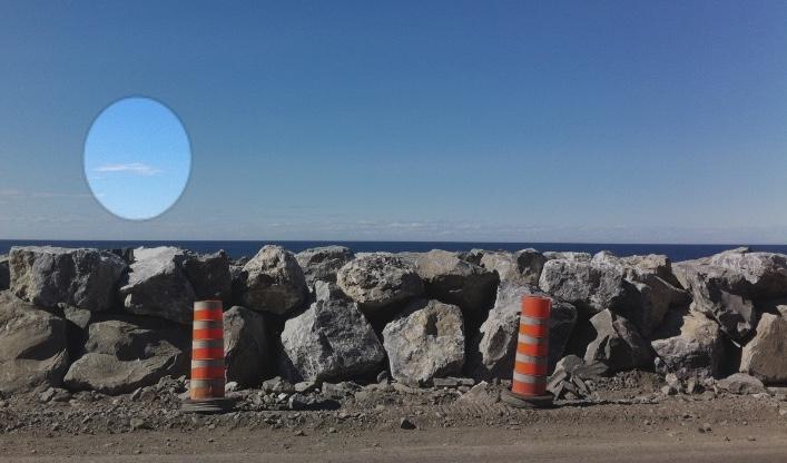 Sur la route, au Québec, ©Sophie Hamel-Dufour