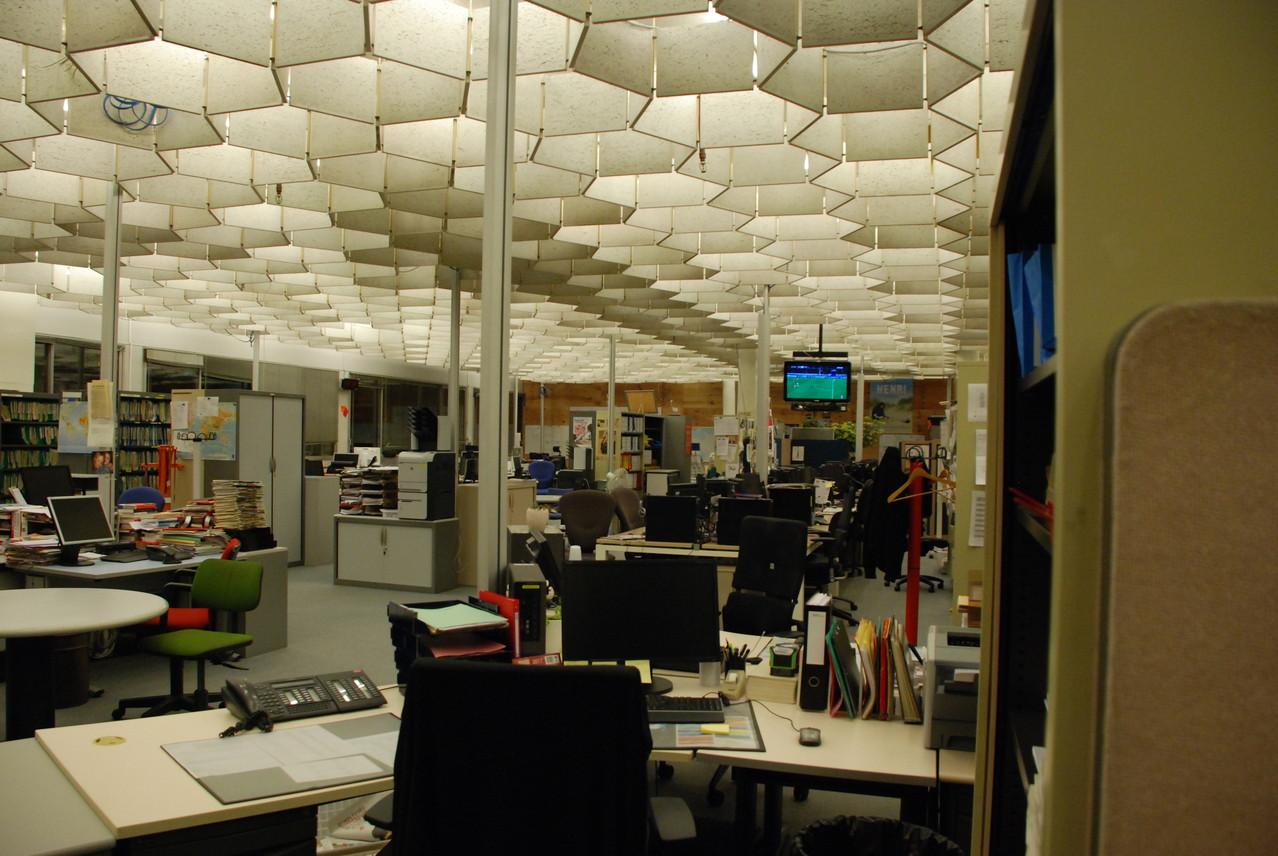 Une salle de rédaction