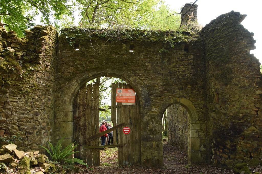 La porte Nord (Extérieur)