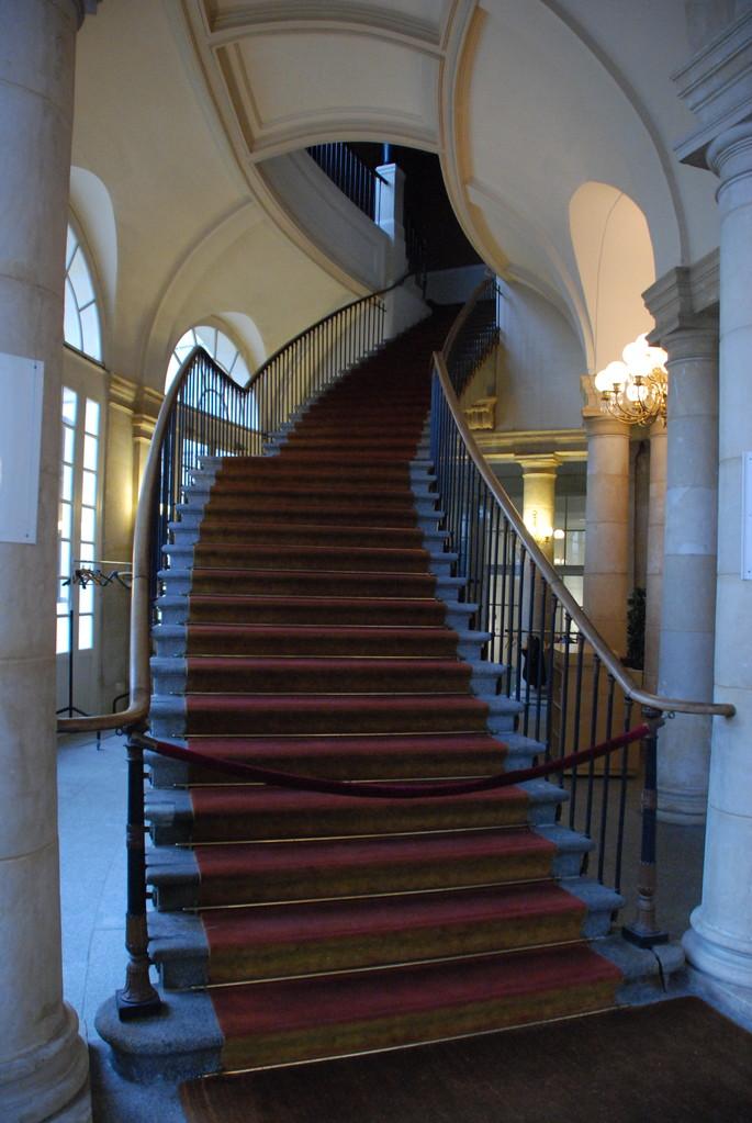 Les escaliers (40 marches)