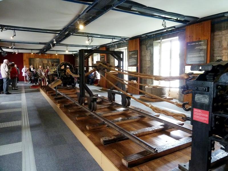 L'intérieur de la corderie royale à Rochefort
