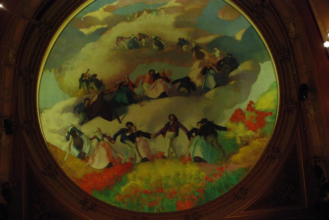 Plafond de Jean-Julien Lemordant