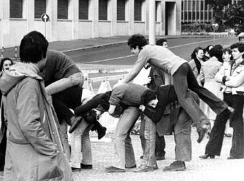 Roma,Febbraio 1978 - Comunione e Liberazione