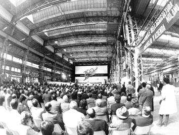 Milano,Maggio 1990 - Centenario della Cgil
