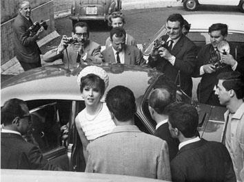"""Roma, Giugno 1965 - Gina Lollobrigida in tribunale film """"Le bambole"""""""