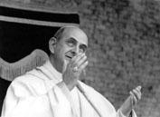 Roma, Maggio 1965 - Espressioni Papa Paolo VI