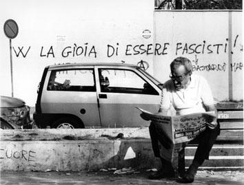Roma, Settembre 1992 - Scritte fasciste e nazziste