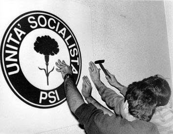 Roma, Novembre 1990 - Simbolo Unità Sociale
