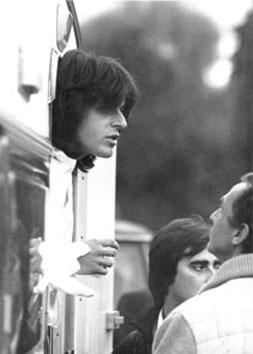 Roma, Ottobre 1982 - Claudio Baglioni a Villa Borghese