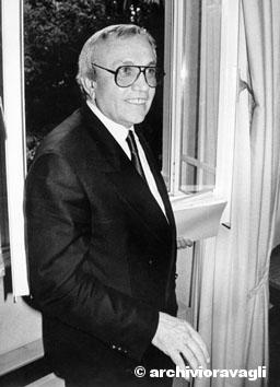 Roma, Marzo 1990 - Gabriele Cagliari (Presidente Eni)