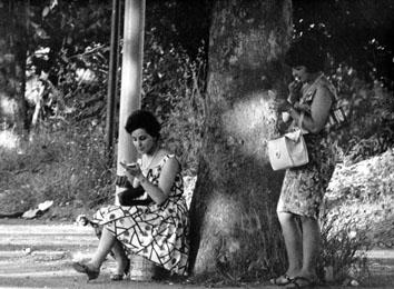 Roma, Luglio 1965 - Prostituzione a  Tor di Quinto