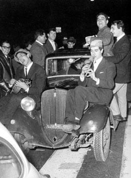 Roma, Dicembre 1965 - Capodanno a Via Veneto
