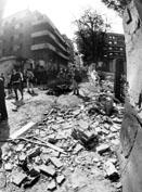 Roma, Maggio 1993 - Attentato a Maurizio Costanzo in via Fauro