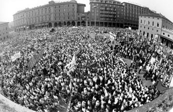 Bologna, Agosto 1990 - Anniversario strage Bologna