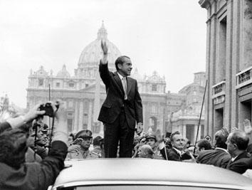 Roma, Settembre 1970 - Richard Nixon a San Pietro