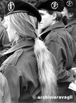 Roma, Novembre 1992 - Donne soldato