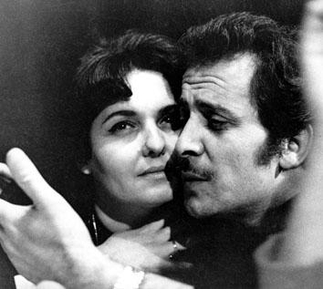 """Roma, Gennaio 1965 - Domenico Modugno alla commedia """"L'isola delle capre"""""""