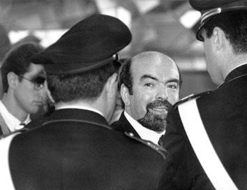 Roma, Aprile 1994 - Maurizio Broccoletti al processo Sisde