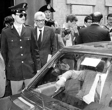 Roma, Maggio 1988 - Sergio Mattarella, anniversario morte Aldo Moro