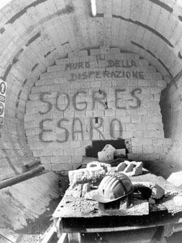 Sant'Agata di Esaro (Cosenza), Novembre 1992 - Occupazione