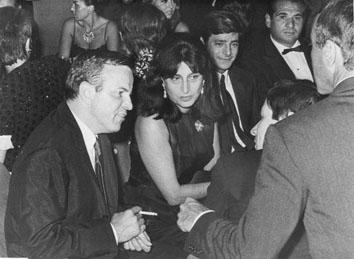 Riccione, Agosto 1965 - Franco Zeffirelli, Anna Magnani e Giancarlo Giannini al Premio Riccione