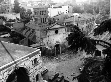 Roma, Luglio 1993 - Autobomba alla chiesa di San Giorgio al Velabro
