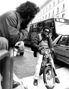 Roma, Novembre 1986 - Lavori emergenti, barbone e pony