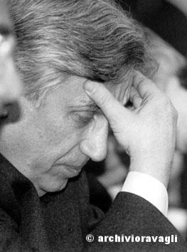 Roma, Marzo 1995 - Antonio fazio (Banca d'Italia)