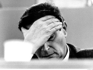 Roma, Marzo 1986 - Luciano Lama al Congresso Cgil -2