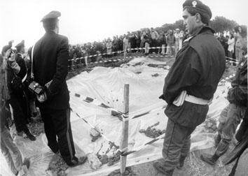 Cerveteri  (Roma), Aprile 1995 - Ritrovamento corpi dei figli di Tullio Brigida